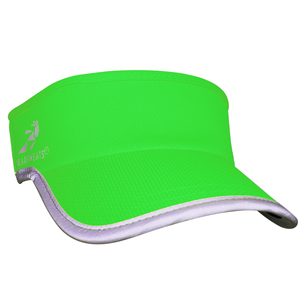 Neon Green Reflective Visor (Add Buttons for a facemask $2.00)