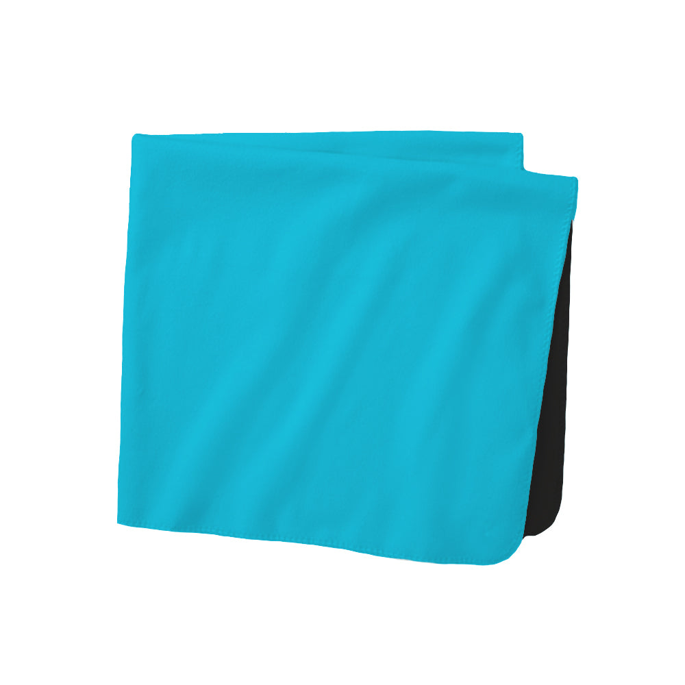 "Solid Performance Fleece Reversible Wicking Blanket (Dual Layer 40"" x 60"")"