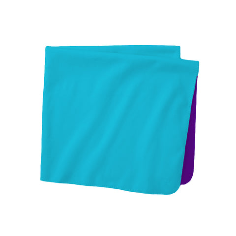 "Solid Performance Fleece Wicking Blanket (Single Layer 40"" x 60"")"