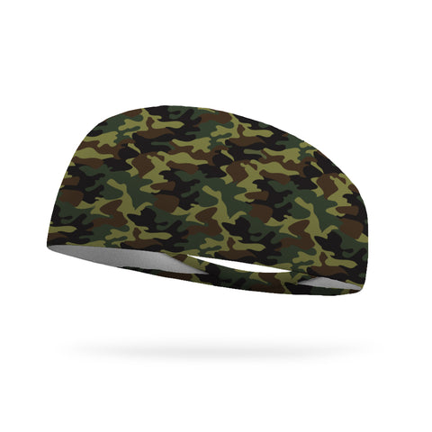 "Sale Solid Color 3"" Flat Back Wicking Headband"