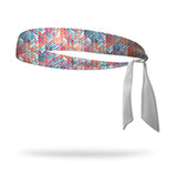 Arrowhead Wicking Tie Back Headband