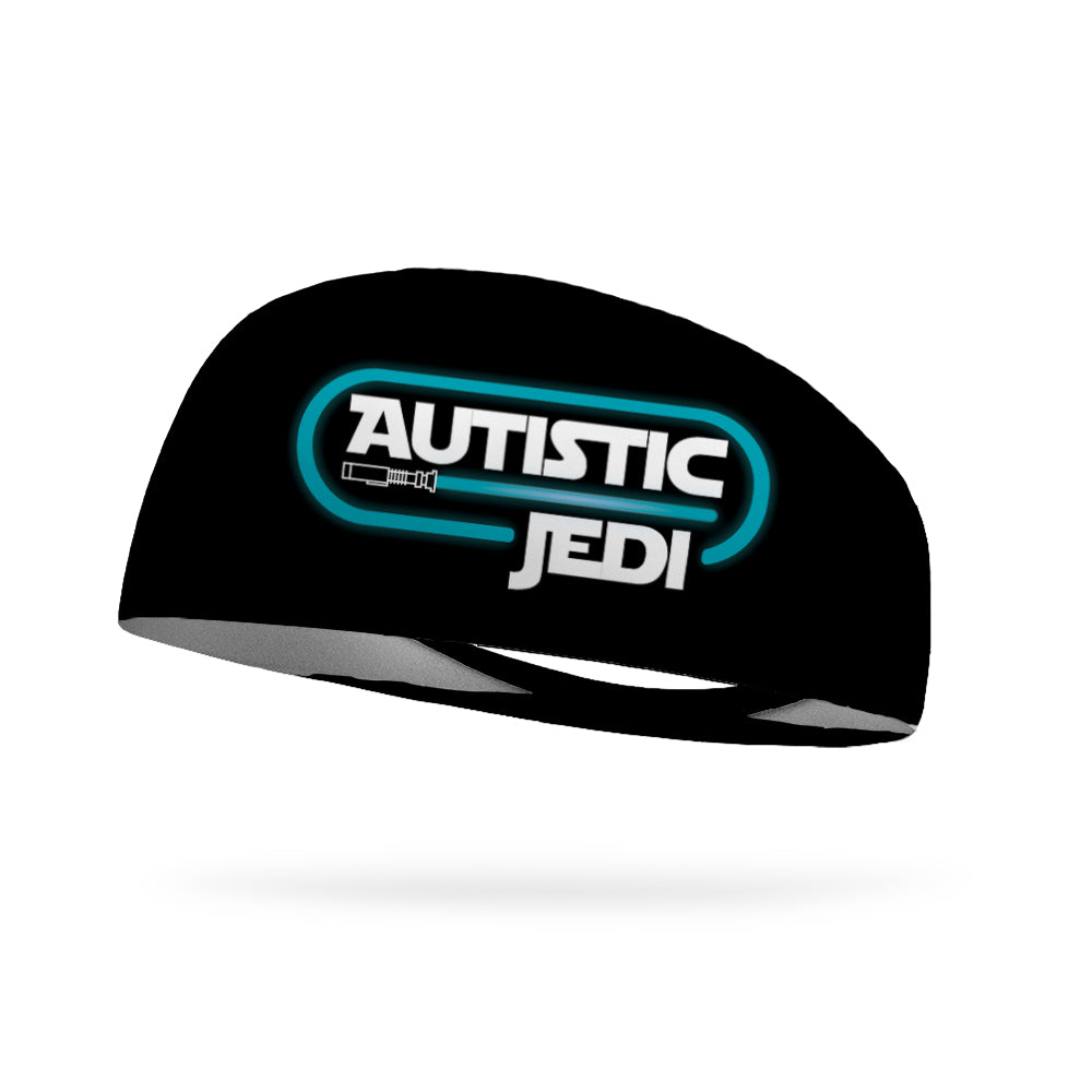 Autistic Jedi Wicking Headband