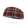 Autumn Plaid Wicking Performance Headband