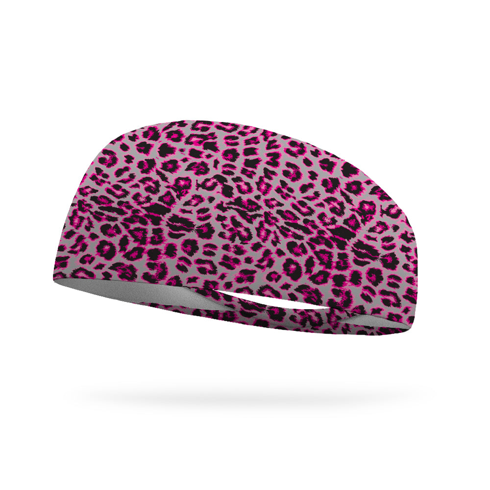 Baby Cheetah Wicking Performance Headband