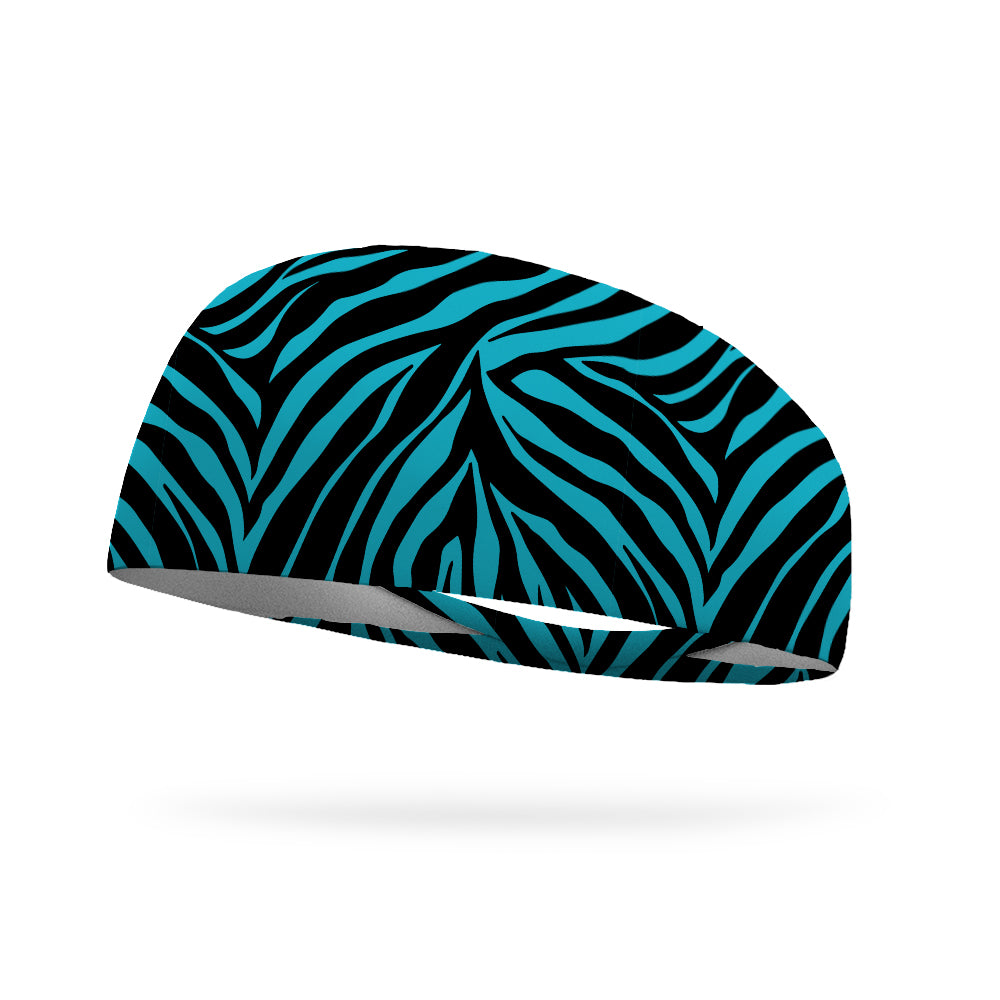 Baha Zebra Wicking Performance Headband