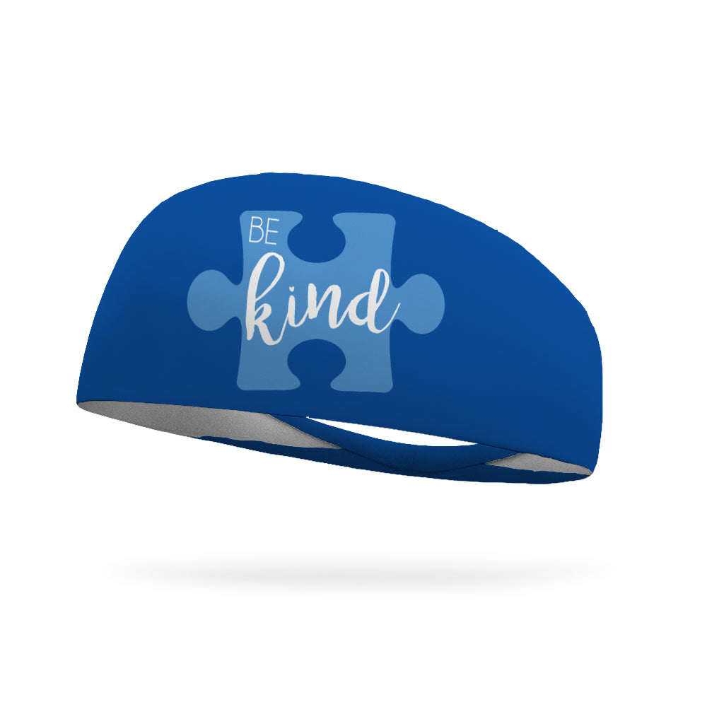 Be Kind Autism Awareness Performance Wicking Headband