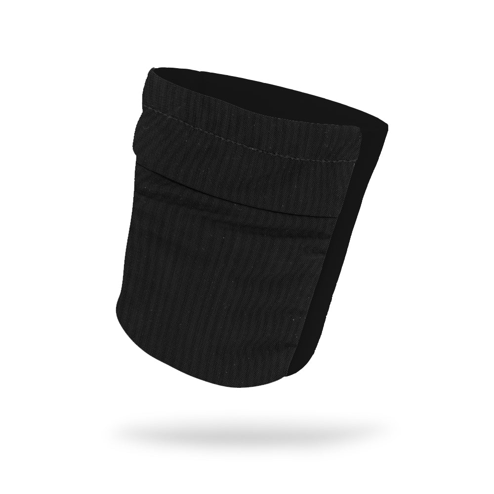 "Black Mesh Front Wicking Armband 6.22"" Height"