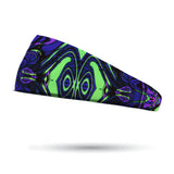Fashion Neon Glows Black Light Headband