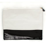Black Stripe Pouch
