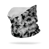 Black and White Tie Dye Wicking Neck Gaiter (12