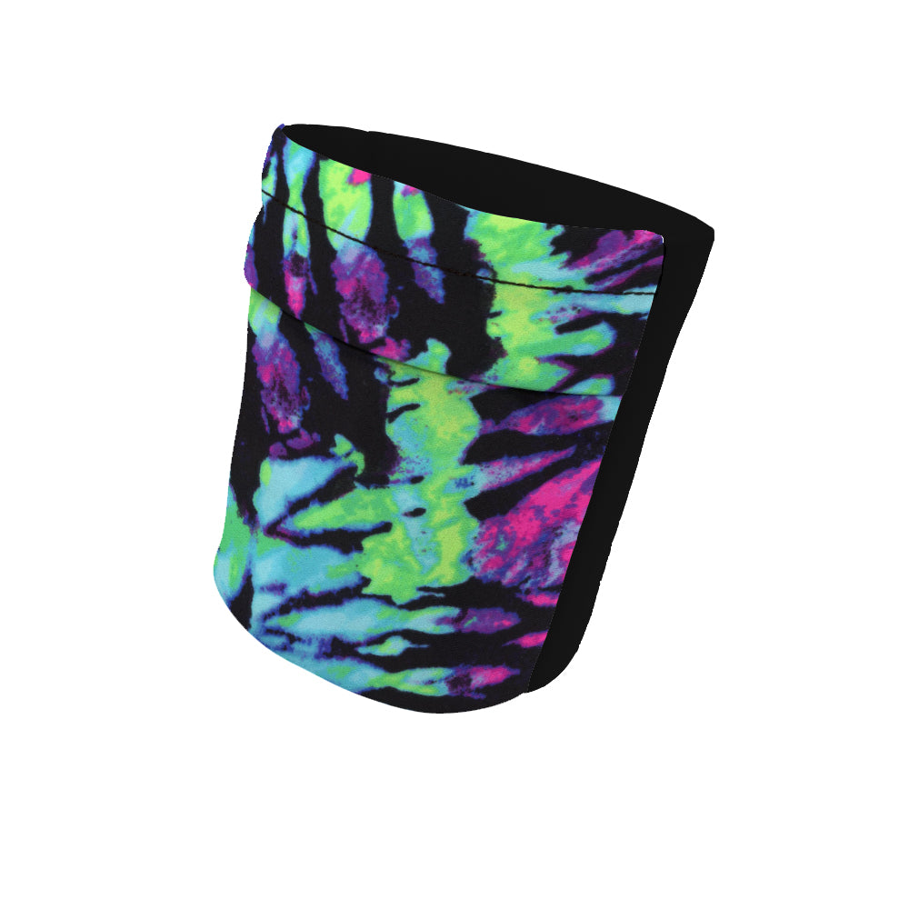 "Blacklight Fashion and Black Wicking Armband 6.22"" Height"