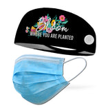 Bloom Where You Are Planted Wicking Performance Headband