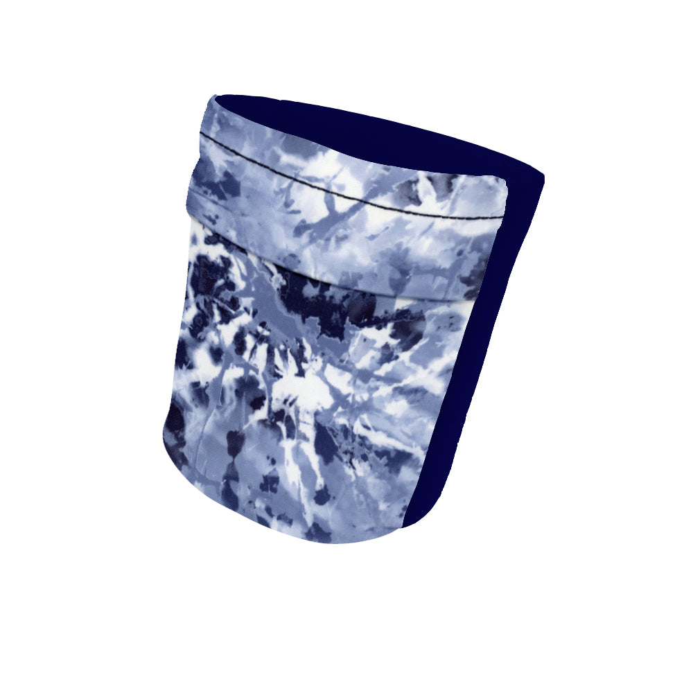 "Blue Marble and Navy Wicking Armband 6.22"" Height"