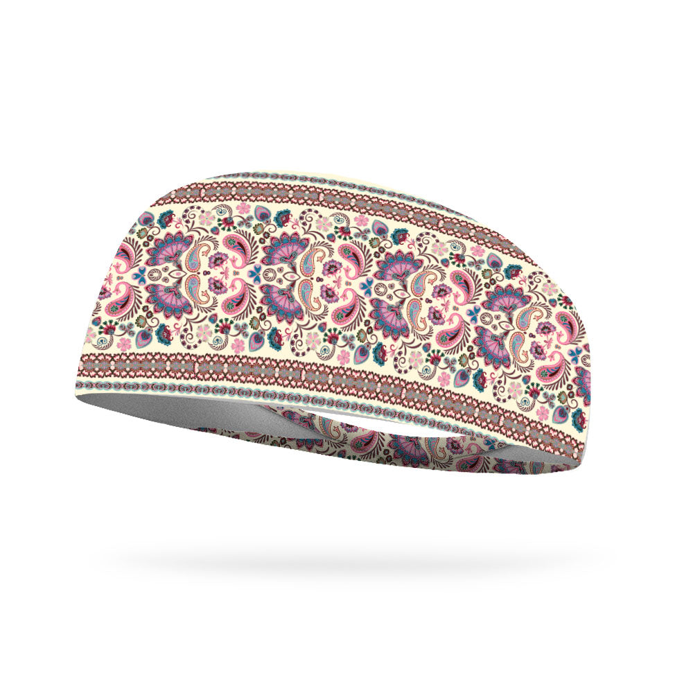 Boho Vintage Wicking Performance Headband
