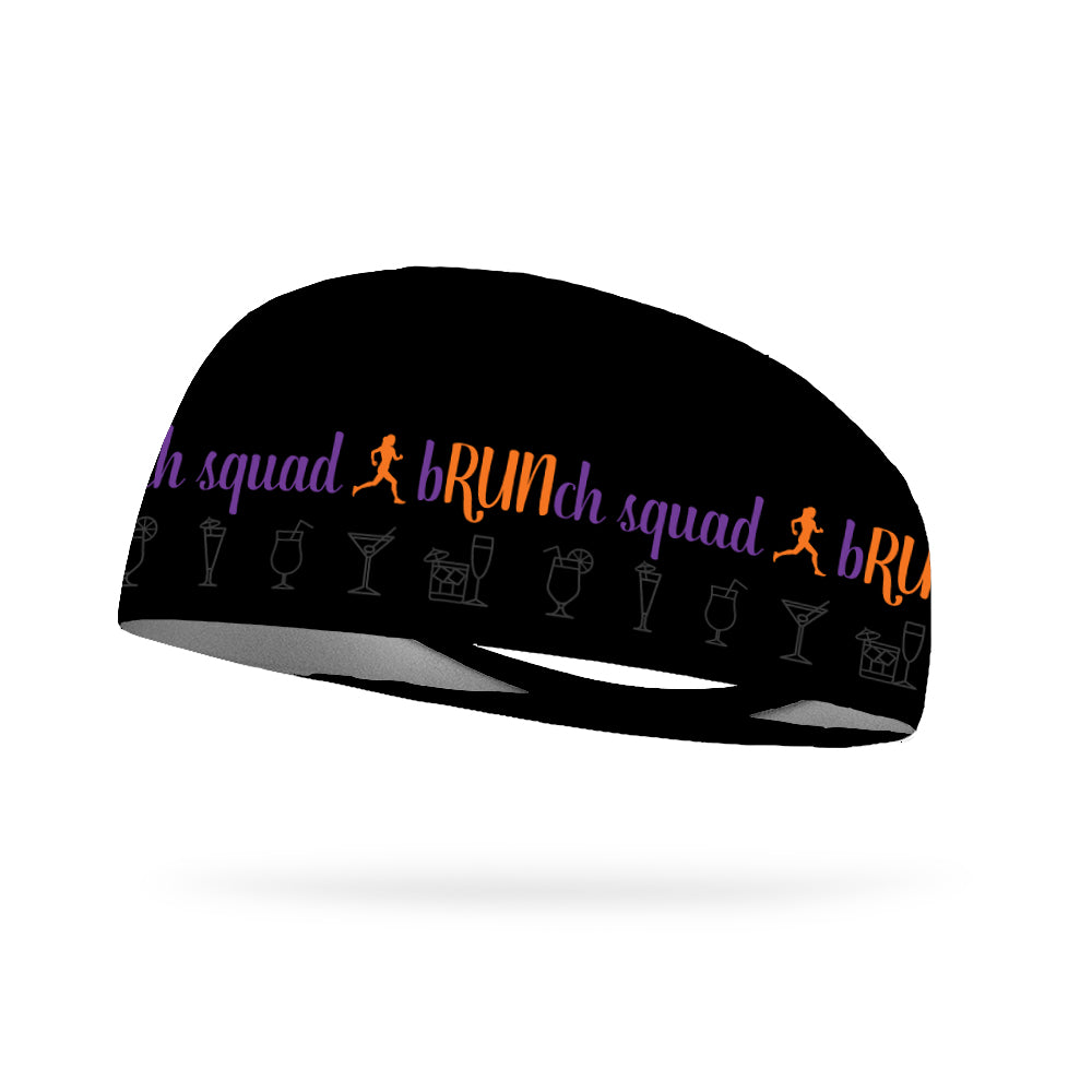 Brunch Squad Wicking Performance Headband (Designed by Tiffany Schrum)