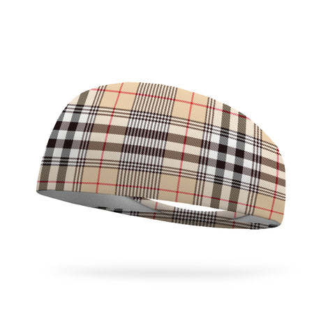 Heartland Plaid Wicking Performance Headband
