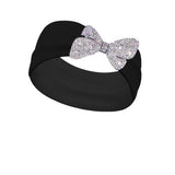 Shimmer Clear Clip-On Bling (Clip only headband not included)