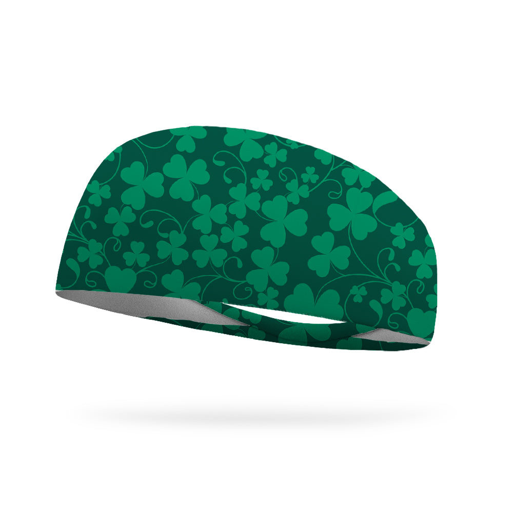 Clover Vines Wicking Performance Headband