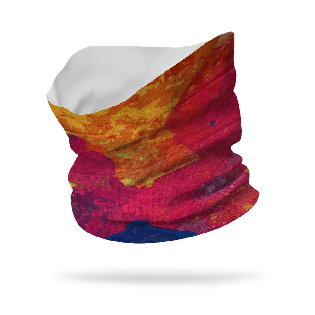 Lycra Color Spill V2 Lycra Neck Gaiter