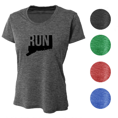 RUN North Carolina Wicking T-Shirt Bondi Wear
