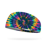 Cool Breeze Tie Dye Wicking Performance Headband