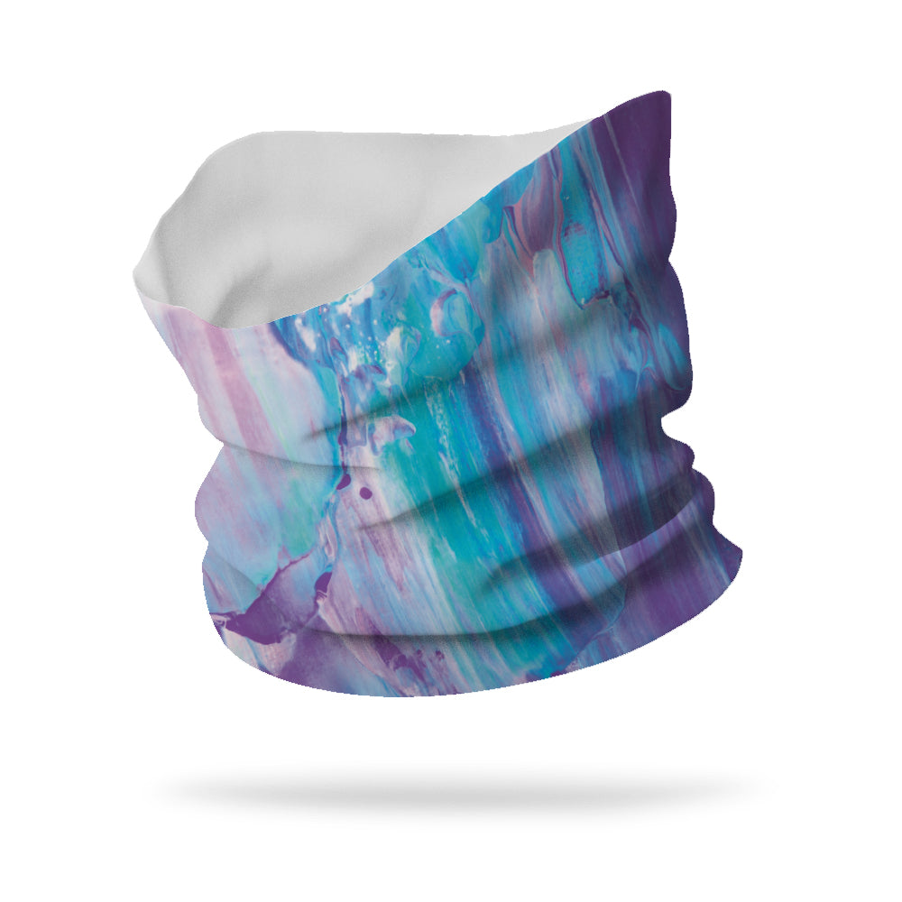 "Cool Paint Wicking Neck Gaiter 12"" Length"