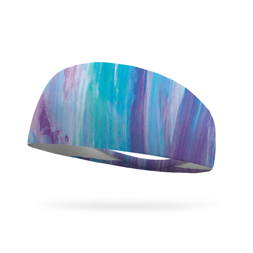 AlyFitMom Collection Cool Paint Wicking Performance Headband