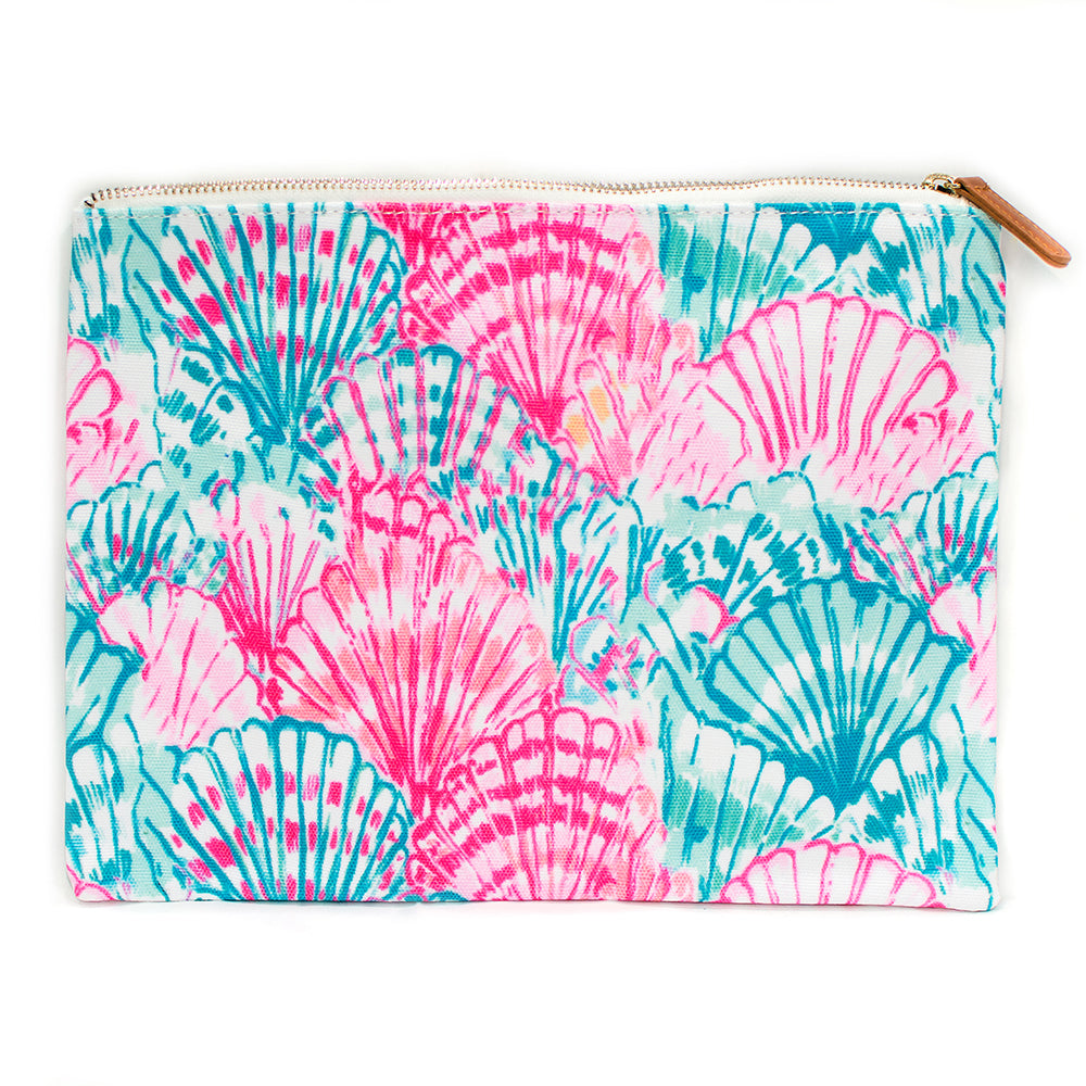 Cotton Candy Seashells Pouch