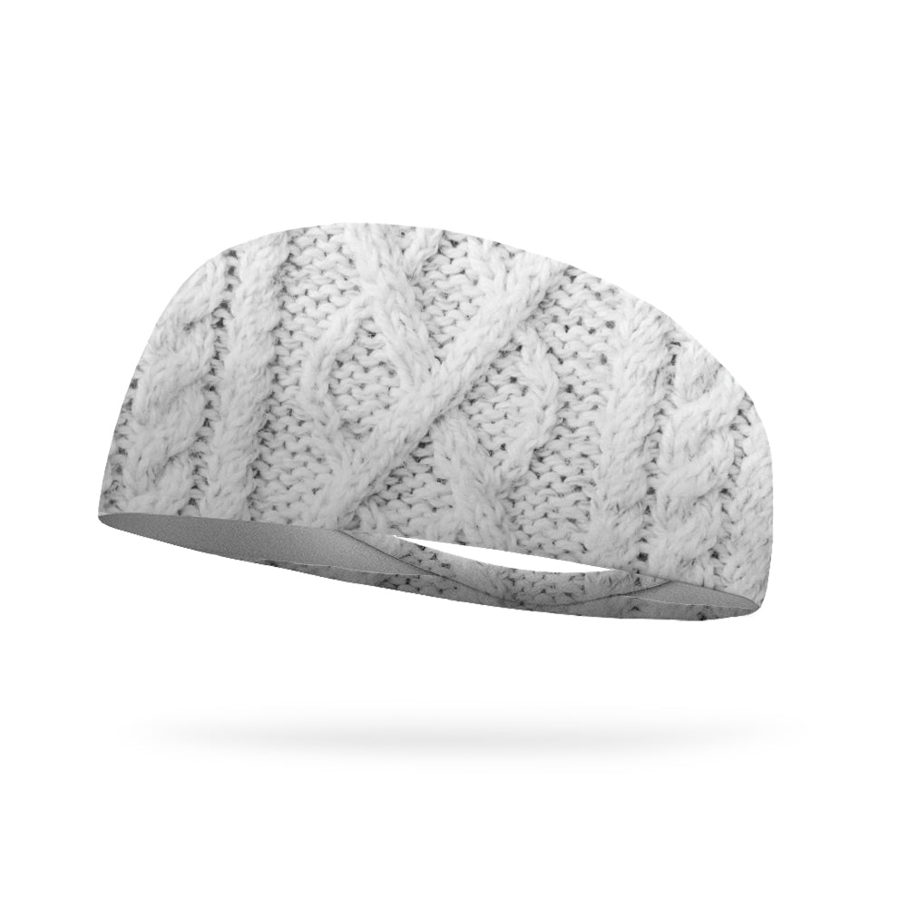 Cozy Knit Wicking Performance Headband