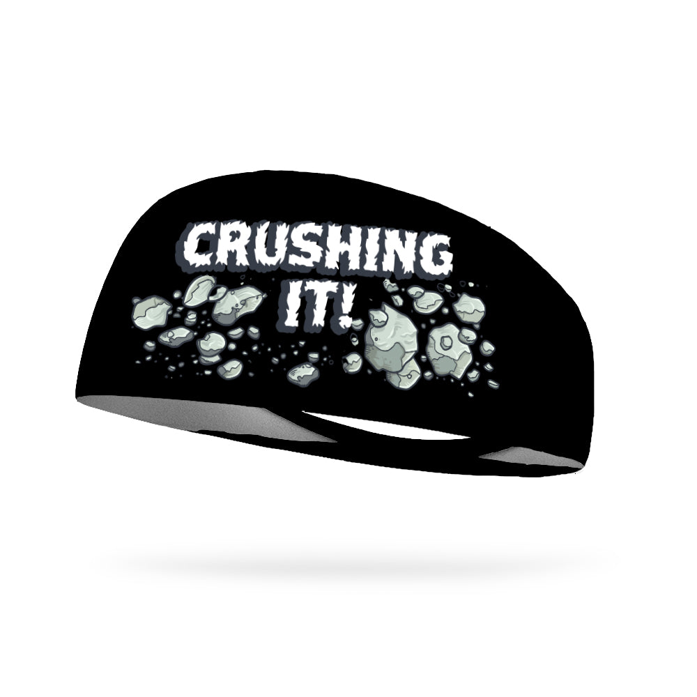 Crushing It Wicking Performance Headband (Designed by Carmella DiPippa)