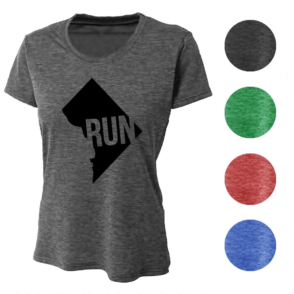 RUN Washington DC Wicking T-Shirt Bondi Wear