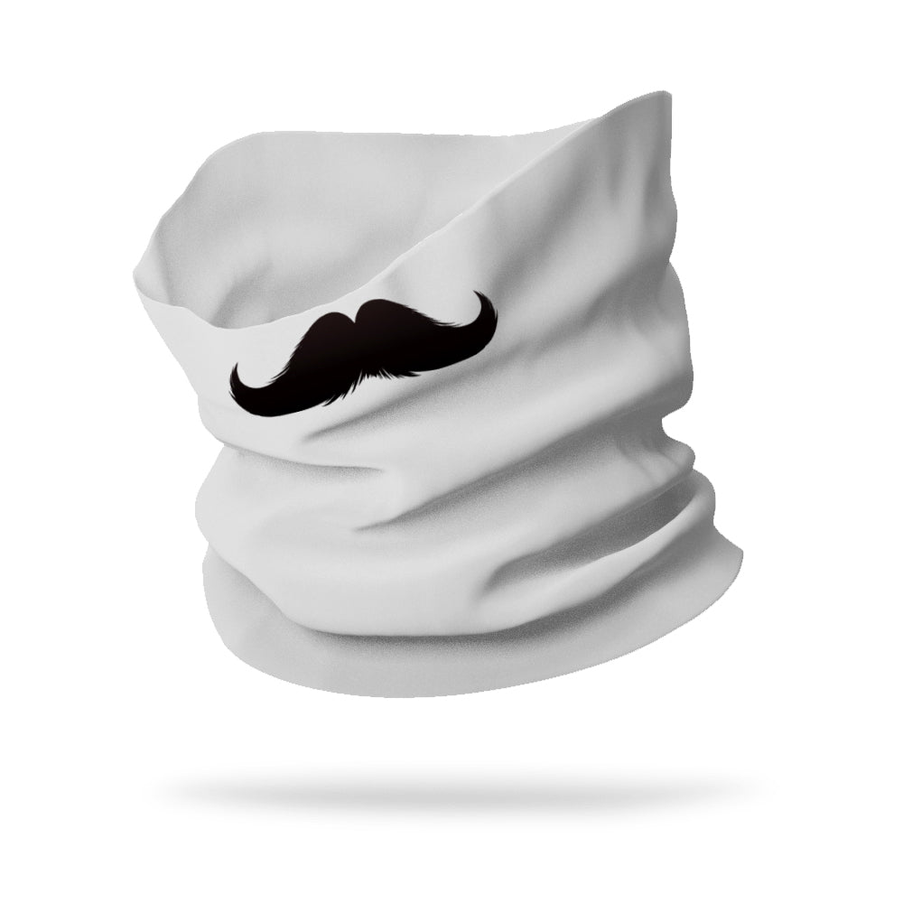 "Dad's Mustache Wicking Neck Gaiter (12"" length)"