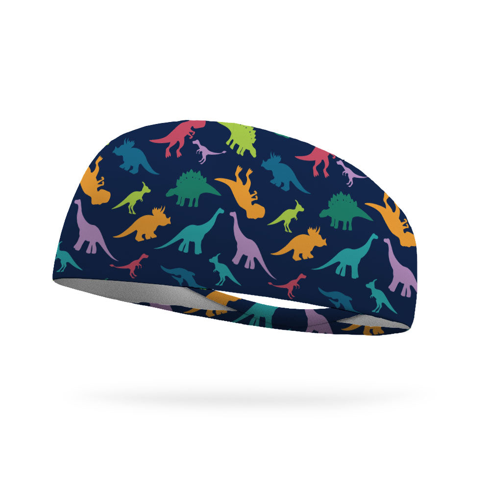 Dinosaur Roar Wicking Headband