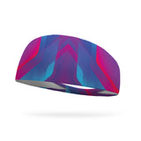 Disco Floor Wicking Performance Headband