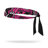 Diva Rock Wicking Tie Back Headband