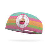 Doing It For the Cupcake Wicking Headband