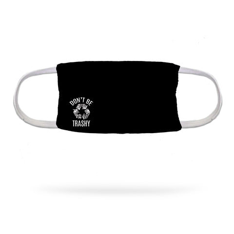 Still I Run Foundation Cross Arrows Face Mask (white logo)