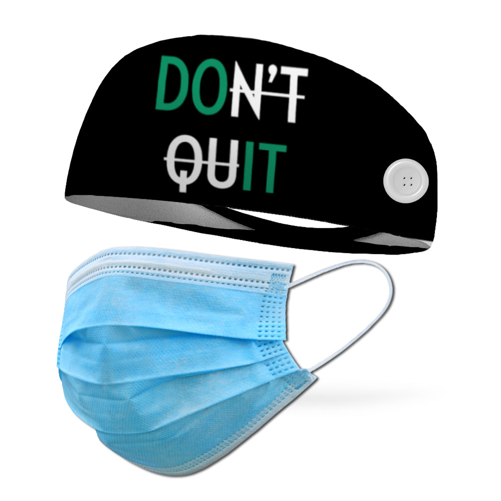 Don't Quit Wicking Performance Headband