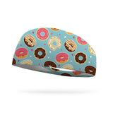 AlyFitMom Collection Donut Shop Wicking Headband