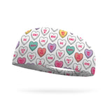Doodle Candy Hearts Color Your Own Wicking Headband