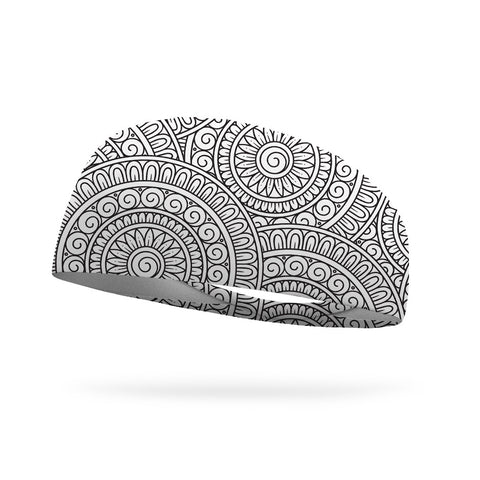 Doodle Mandala Color Your Own Wicking Headband