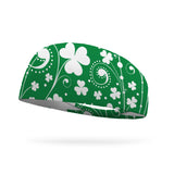 Doodle Clover Swirls Color Your Own Wicking Headband