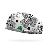 Doodle Clovers Color Your Own Wicking Headband
