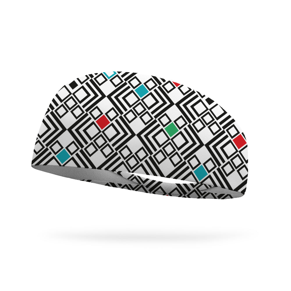 Doodle Diamonds Color Your Own Wicking Headband