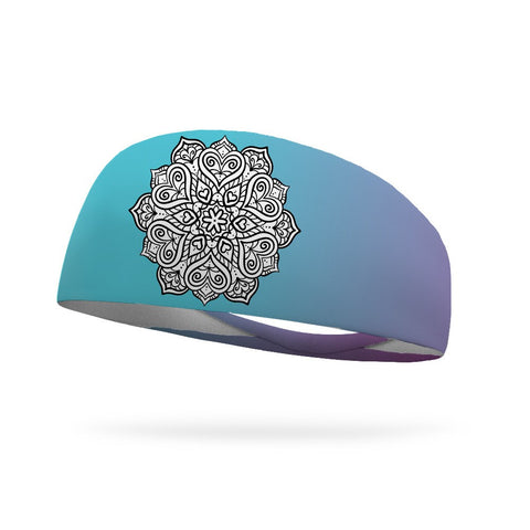 Doodle Circle Mosaic Color Your Own Wicking Headband