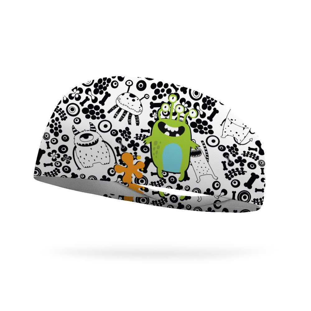 Doodle Monsters Wicking Headband - Bondi Band