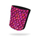 Dragon Fuchsia Fashion and Black Wicking Armband 6.22