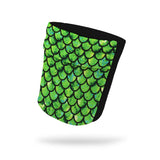 Dragon Green Fashion and Black Wicking Armband 6.22