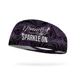 Dream Big and Sparkle On Wicking Performance Headband (Designed by Alicia Prochnow)