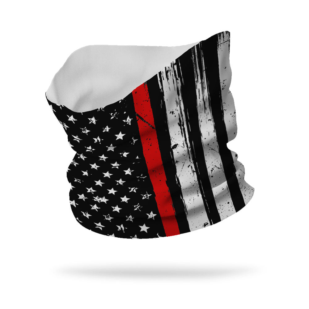 Essential Firefighter Thin Red Line Wicking Neck Gaiter